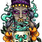Voodoo Priestess by jordannelefae