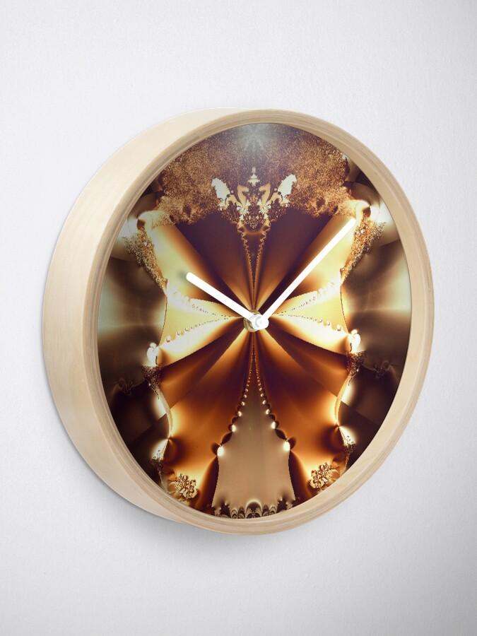 Alternate view of Wide Open Clock