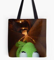 Frog Kermit Slip Mine Salt Mine Tote Bag