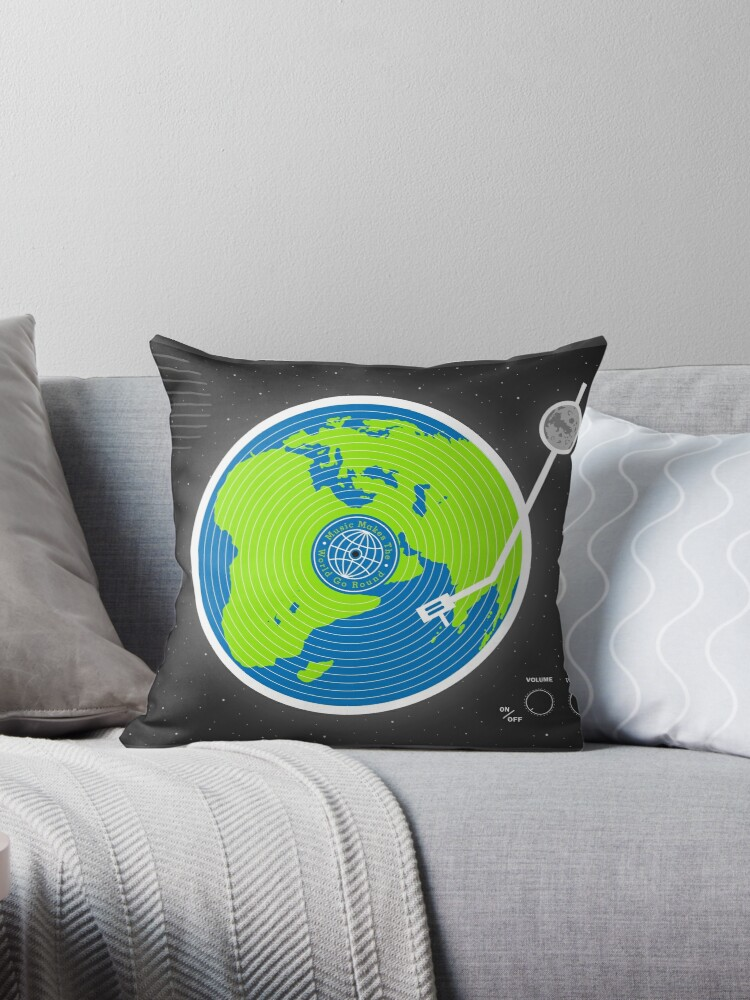 Sensational Music Makes The World Go Round Throw Pillow By Daviesbabies Gamerscity Chair Design For Home Gamerscityorg