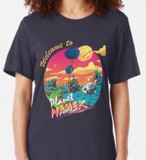 Dragon Ball Z Planet Namek Slim Fit T-Shirt
