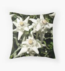 Edelweiss. Throw Pillow