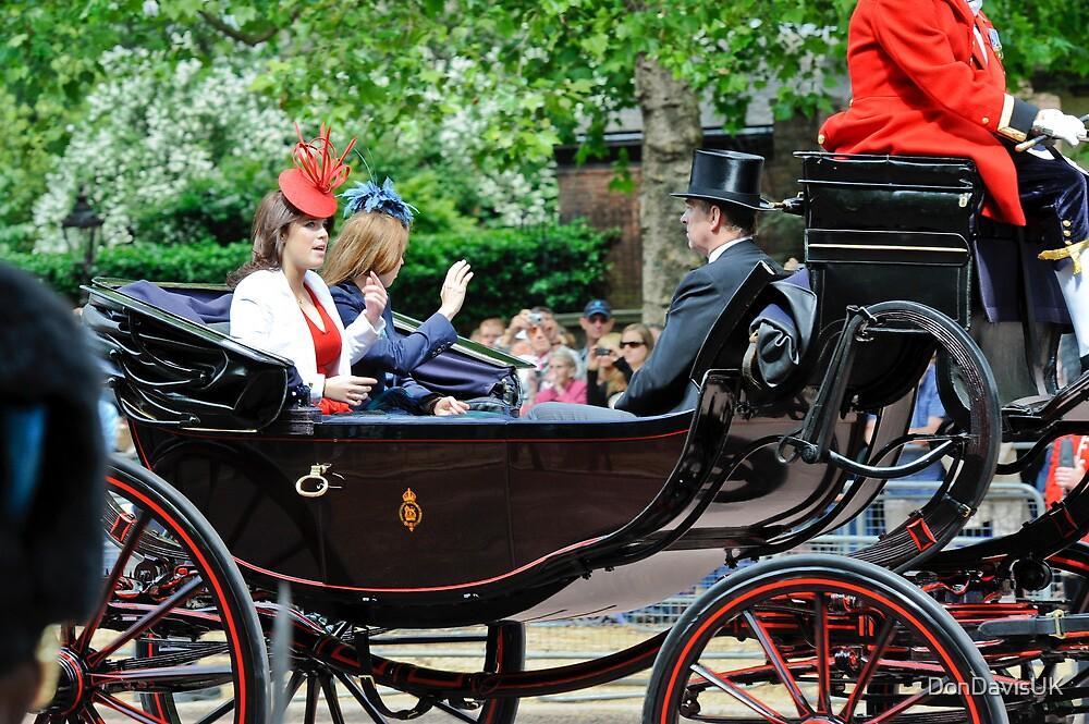 Princess Eugene... Trooping of the Colour, London, UK. by DonDavisUK