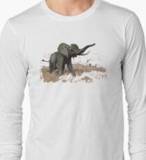 African bush elephant Long Sleeve T-Shirt