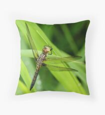Not So Blue Throw Pillow