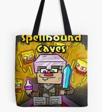 Super Spellbound Caves - Enchanting Poster Tote Bag