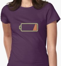 Silicon Valley - Low Battery Womens Fitted T-Shirt