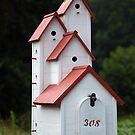 Condo Birdhouse, Mailbox by BCallahan