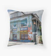 The Hub Community Arts Centre on East Bay Street in Nassau, The Bahamas Throw Pillow