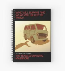The Texas Chain Saw Massacre Spiral Notebook