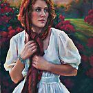 Gold and Scarlet by Jean Hildebrant