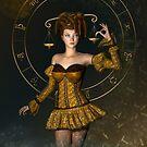 « Libra fantasy zodiac sign » par Britta Glodde