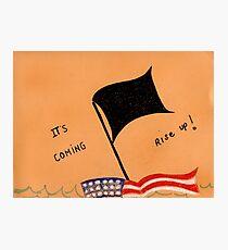 The Black Flag Photographic Print