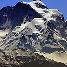 Mt. Jungfrau (4158 m / 13642 ft). Eternal snow and ice. top of Europe and UNESCO HERITAGE by eveline