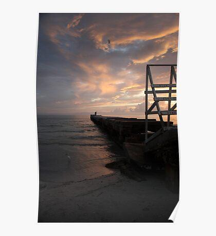 Anna Maria Island - Cortez Beach.  Poster