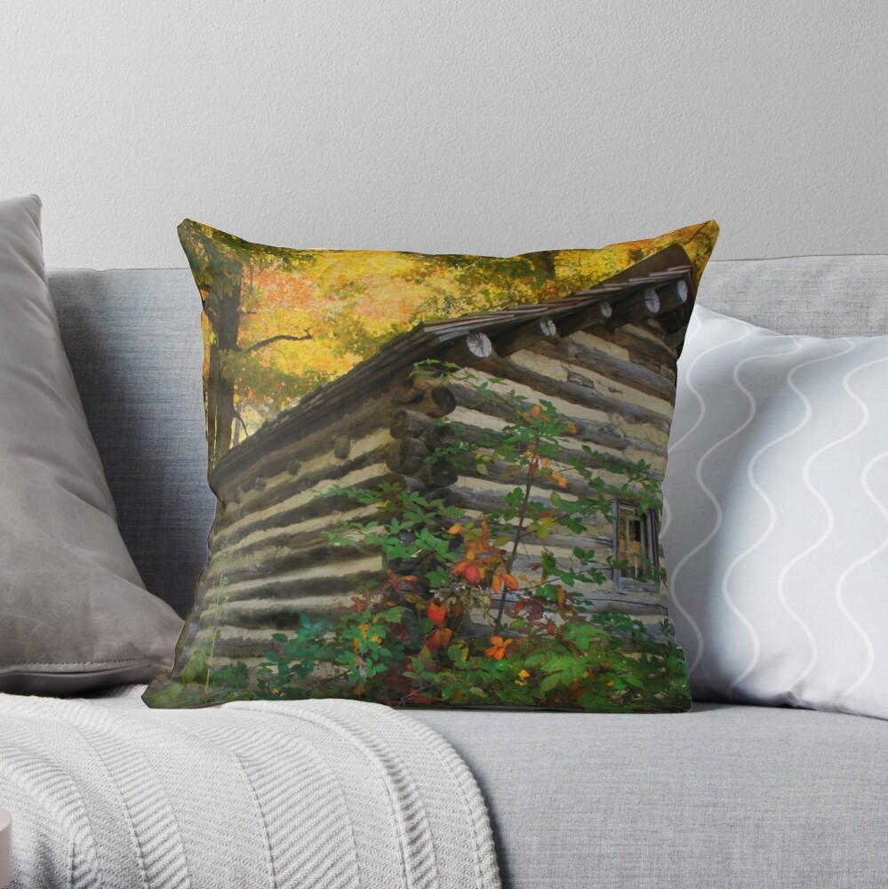 Appalachian Dream Home Throw Pillow
