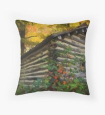 Appalachian Dream Home Throw Pillow