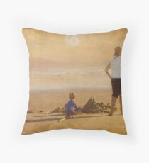 Last of the Summer Days Throw Pillow