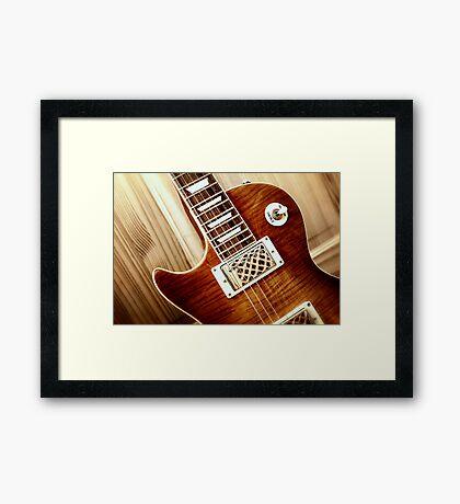 Guitar Icon : WTF : FFF Framed Print