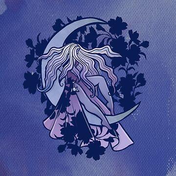 Moon Goddess by Boogiemonst