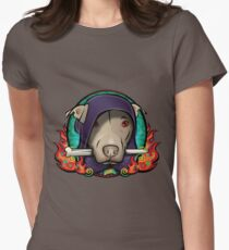 The Dog Lord Women's Fitted T-Shirt