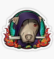 The Dog Lord Sticker