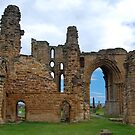 The ruins of Tynemouth Priory. by Onions