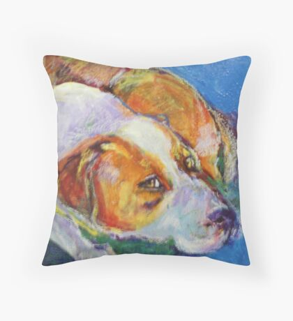 Terrier Throw Pillow