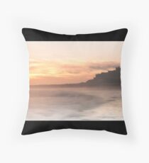 Bamburgh Castle Throw Pillow