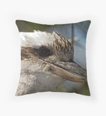 Kookaburra Portrait Throw Pillow