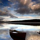 Boat in the Griffin Forest by Angus Clyne