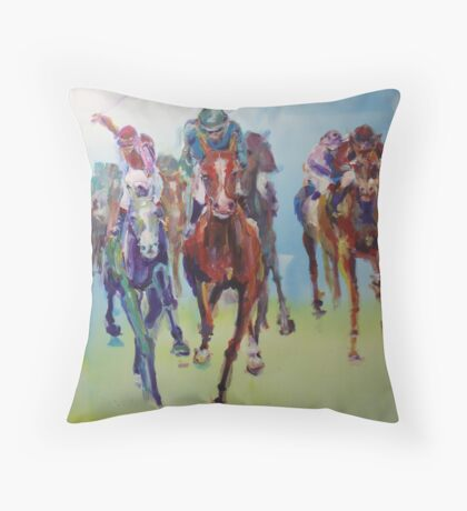 Cup Day Throw Pillow