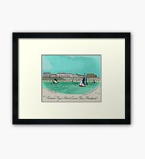 Robinsons Royal Hotel, Blackpool 1855 Framed Print
