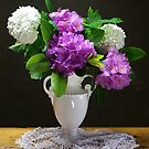 rhododendron stil life by dagmar luhring