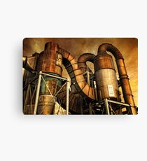 Industrial Might Canvas Print