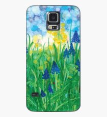 Cowslips & Grape Hyacinths Case/Skin for Samsung Galaxy