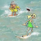 ANYONE FOR SURF! by Lorenzo Castello