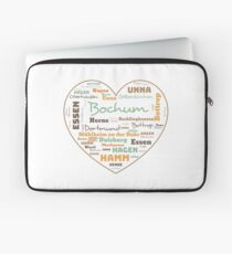 RUHRPOTT LOVE HEART (colored) Laptop Sleeve