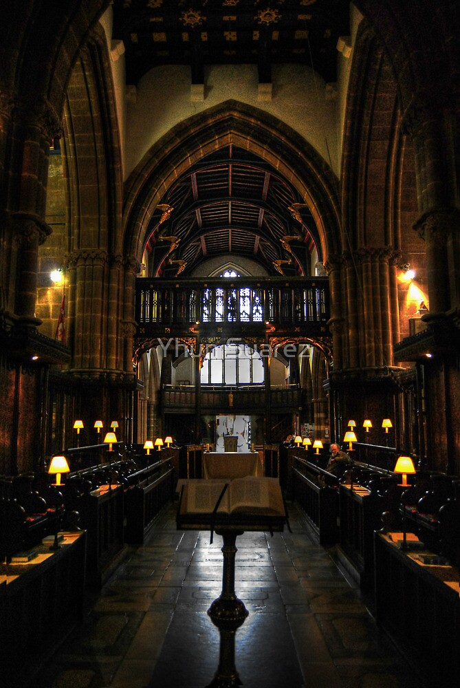 Leicester Cathedral Choir Area by Yhun Suarez