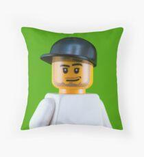Mark Cavendish Portrait Throw Pillow
