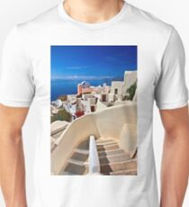 Walking in Oia - Santorini island T-Shirt