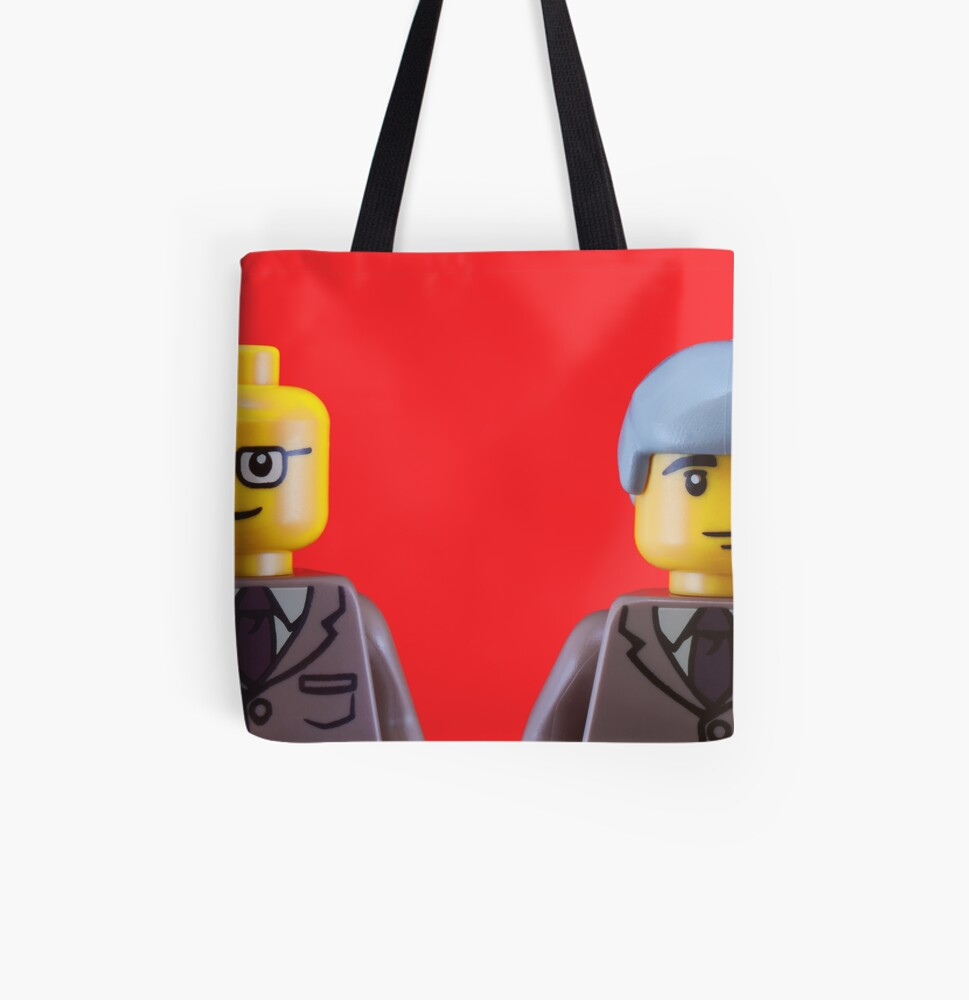 Gilbert and George All Over Print Tote Bag