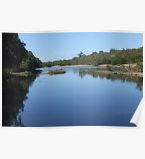 The Bowen River, Collinsville Poster