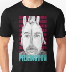 Karl Pilkington (with spoons) Portrait  T-Shirt