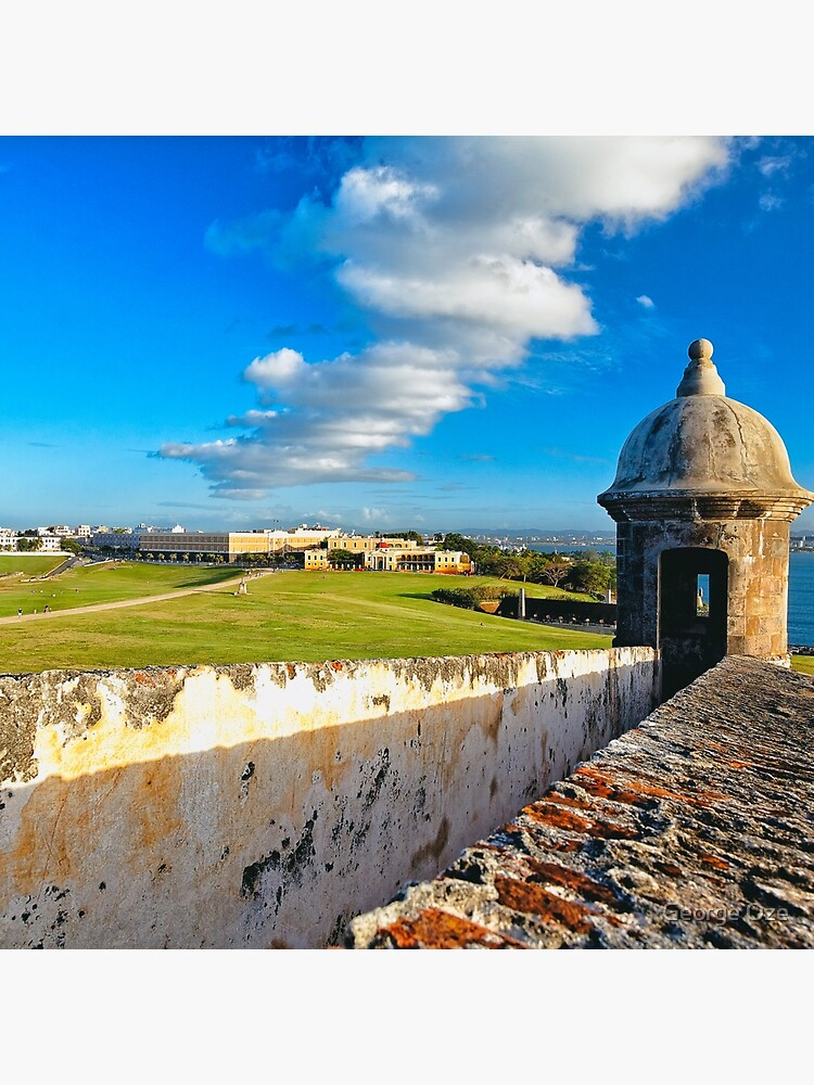 View of Old San Juan From The El Morro by ozeg