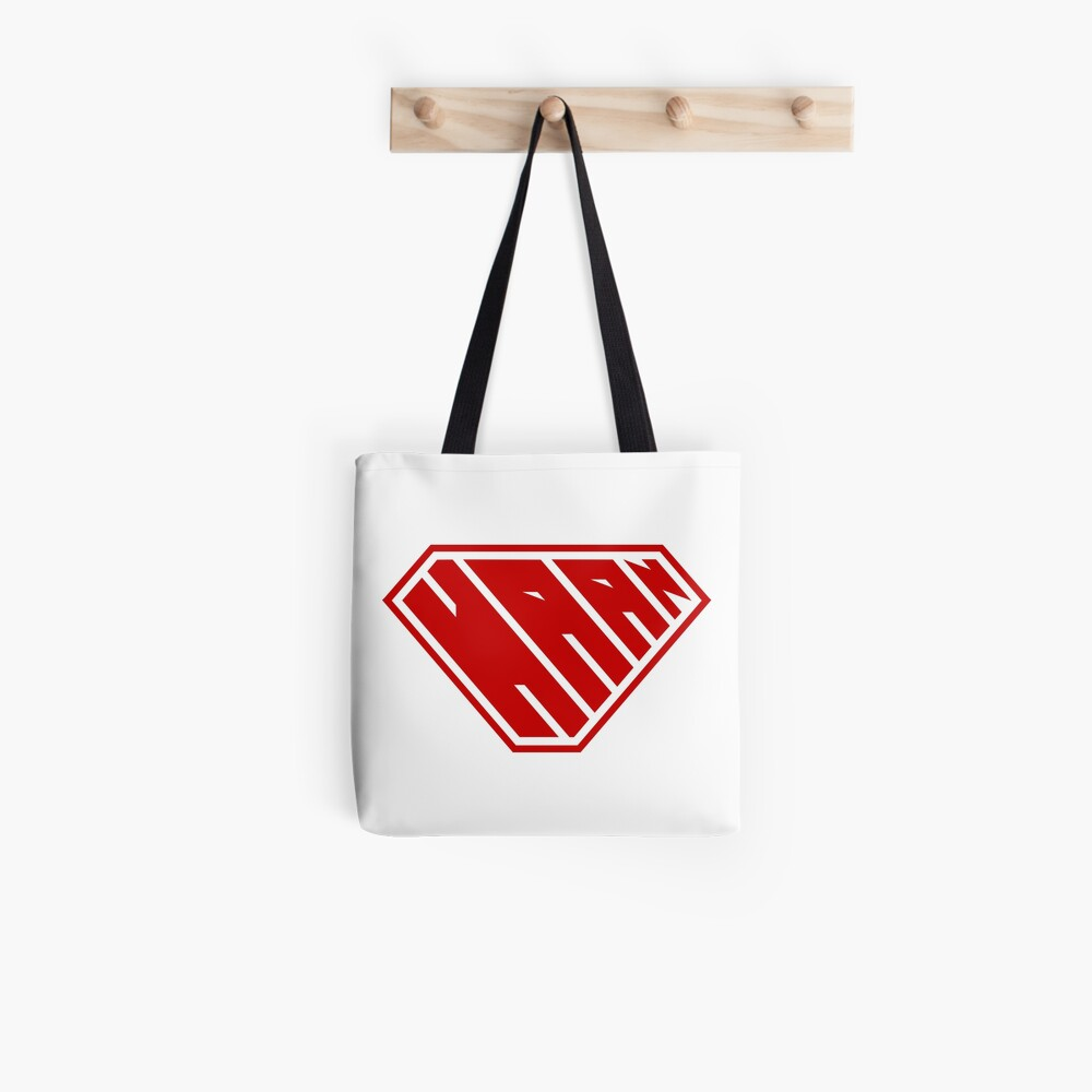 Haan SuperEmpowered (Red) Tote Bag