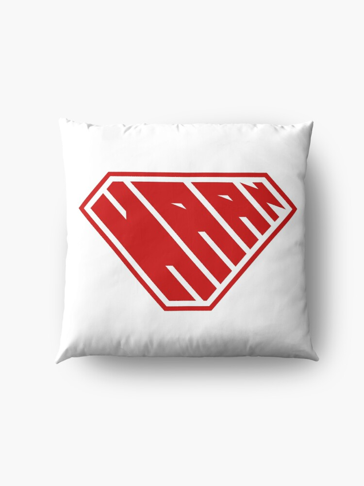 Alternate view of Haan SuperEmpowered (Red) Floor Pillow