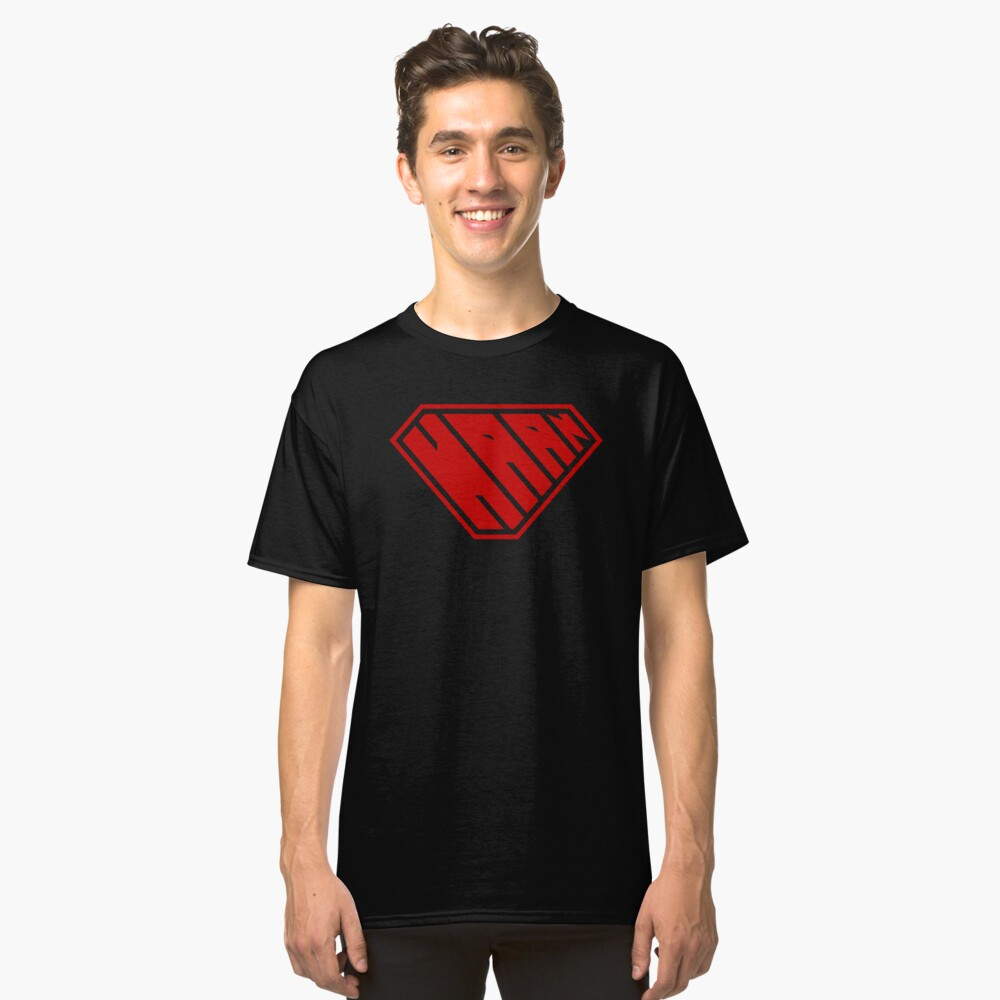 Haan SuperEmpowered (Red) Classic T-Shirt