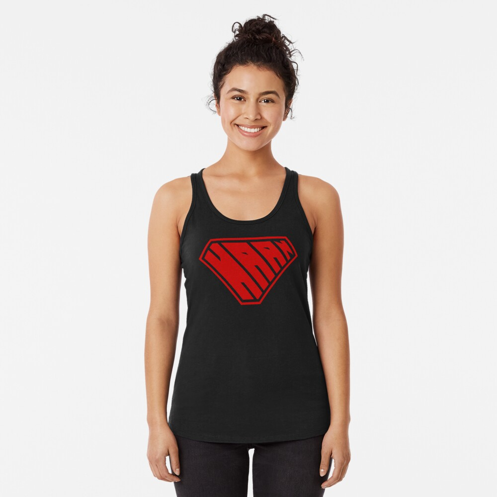 Haan SuperEmpowered (Red) Racerback Tank Top