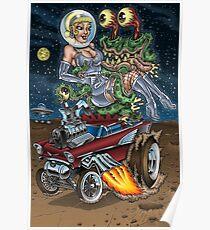 Alien Gasser Entführung Poster